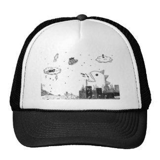 imaginary dizaster trucker hat