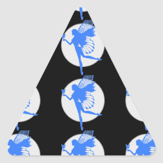 Imaginary Fairytales Triangle Sticker