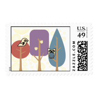 Imaginary Forest Stamps