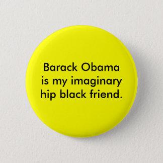 Imaginary Friend Pinback Button