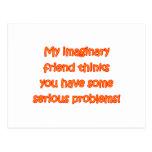 Imaginary Friend Postcard