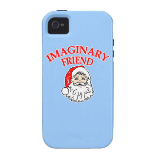 Imaginary Friend Santa Claus Case For The iPhone 4