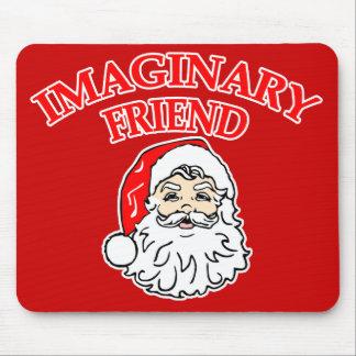 Imaginary Friend Santa Claus Mouse Pad