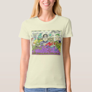 Imaginary Friends Funny Womens Organic Tees
