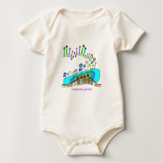 Imaginary garden baby bodysuit