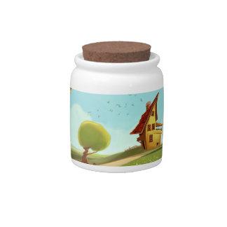 imaginary house Candy Jar