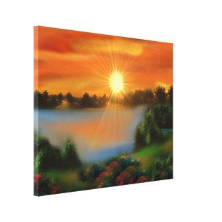 imaginary landscape canvas print