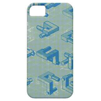 Imaginary Planning Poster iPhone SE/5/5s Case