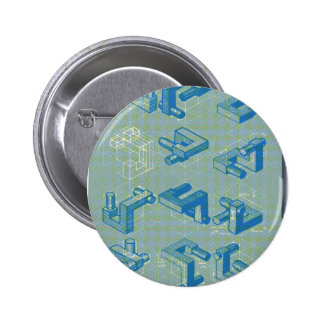 Imaginary Planning Poster Pinback Button
