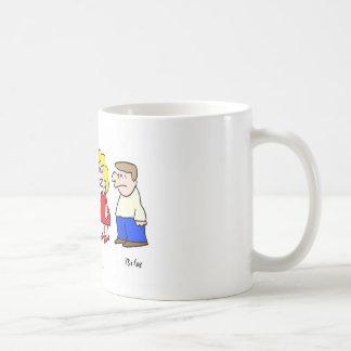 imaginary playmate came out of closet coffee mug