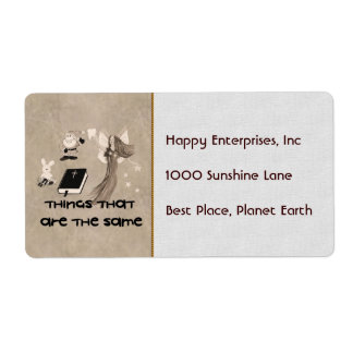Imaginary Playthings Label