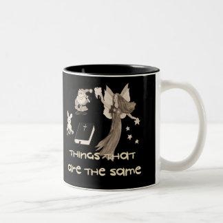 Imaginary Playthings Two-Tone Coffee Mug