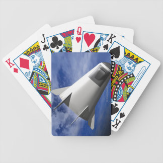Imaginary Spacecraft Bicycle Playing Cards