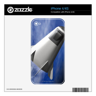 Imaginary Spacecraft Decal For iPhone 4