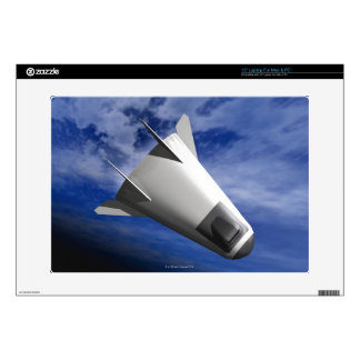 Imaginary Spacecraft Decal For Laptop
