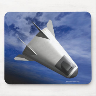 Imaginary Spacecraft Mouse Pad