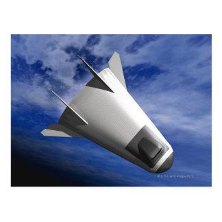 Imaginary Spacecraft Postcard