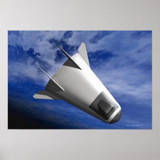 Imaginary Spacecraft Poster