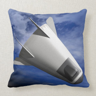 Imaginary Spacecraft Throw Pillow