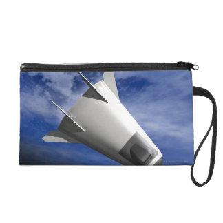 Imaginary Spacecraft Wristlet Purse