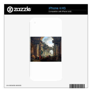 Imaginary View of the Grand Gallery of the Louvre iPhone 4S Decal