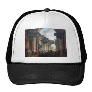 Imaginary View of the Grand Gallery of the Louvre Trucker Hat