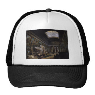 Imaginary View of the Grande Galerie in the Louvre Trucker Hat