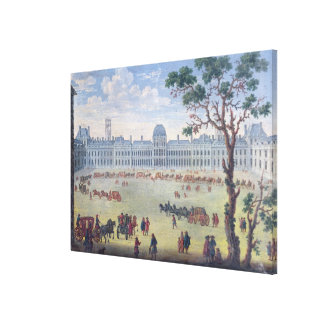 Imaginary View of the Tuileries Canvas Print
