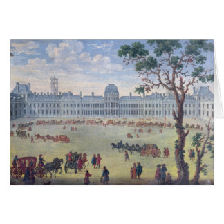 Imaginary View of the Tuileries Card