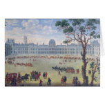 Imaginary View of the Tuileries Greeting Card