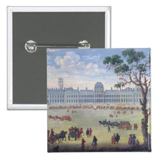 Imaginary View of the Tuileries Pinback Button