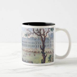 Imaginary View of the Tuileries Two-Tone Coffee Mug