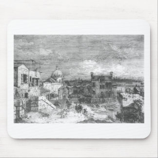 Imaginary View of Venice by Canaletto Mouse Pad
