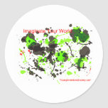 ImaginateYourWorld Classic Round Sticker