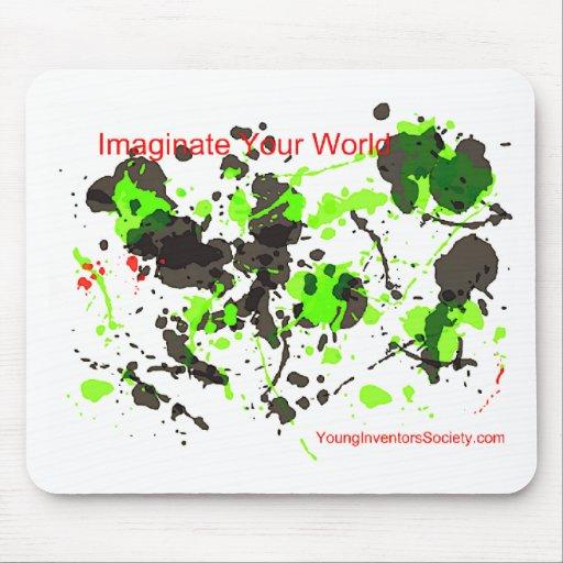 ImaginateYourWorld Mouse Pad