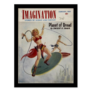 Imagination 02-54_Pulp Art Postcard