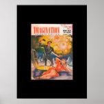 Imagination 04-57_Pulp Art Poster
