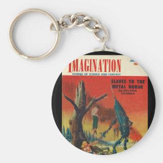 Imagination _ 06-1954_Pulp Art Keychain