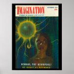 Imagination _ 11-1951_Pulp Art Poster