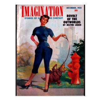 Imagination - 1954-12_Pulp Art Postcard