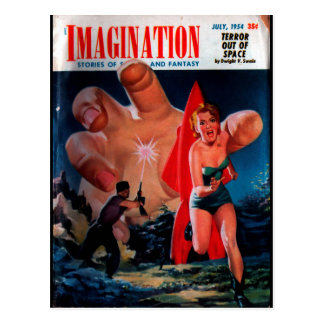 Imagination - 1954-7_Pulp Art Postcard