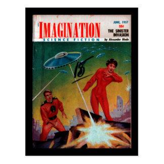 Imagination - 1957-06_Pulp Art Postcard