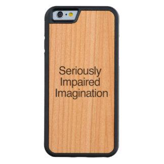 Imagination.ai seriamente empeorado funda de iPhone 6 bumper cerezo