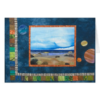 """Imagination Beach"" by Heather Lair Designs Card"