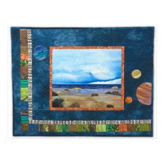 """Imagination Beach"" by Heather Lair Designs Postcard"