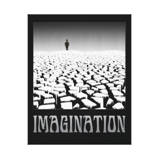 Imagination Stretched Canvas Print