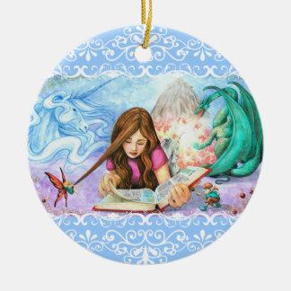 Imagination Ceramic Ornament