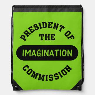 Imagination Commission President Cinch Bag