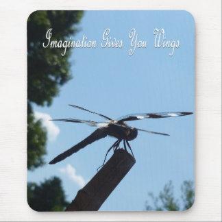 Imagination dragonfly mousepad 2