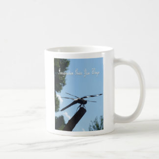 Imagination dragonfly mug 2 edit text with yours